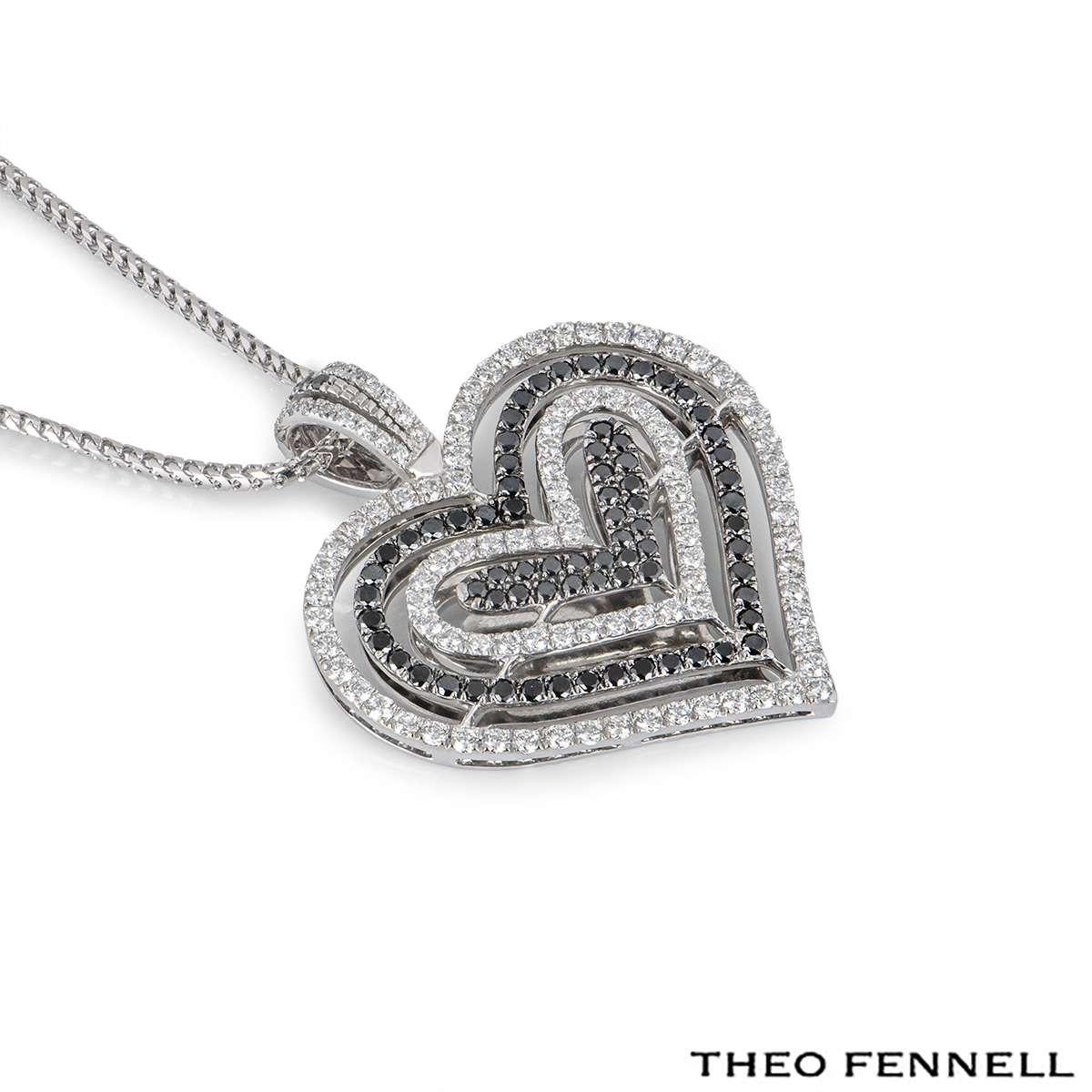 Theo Fennell White Gold Diamond Pendant